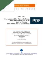 CCFD - Présentation des partenaires - 50 ans