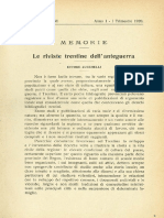 Le riviste trentine dell'anteguerra - Ettore Zucchelli