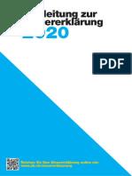 Wegleitung 2020