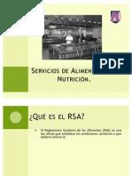 Servicios de Alimentación y Nutrición SAN 2