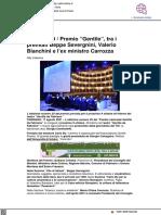 Fabriano, al Premio Gentile tra i premiati Beppe Severgnini, Valerio Bianchini e l'ex ministro Carrozza - Qdmnotizie.it, 17 agosto 2021