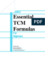 Seventy Essential TCM Formulas Index