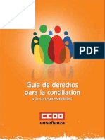 Guía de derechos para la conciliación y la corresponsabilidad