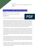 O PSF do Brasil - Editorial BMJ