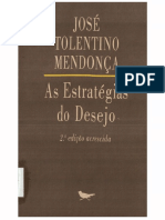 Jose Tolentino as Estrategias Do Desejo