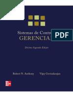 Sistemas de Controle Gerencial - Robert N. Anthony