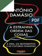 2 A Estranha Ordem das Coisas - Antonio Damasio