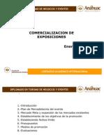 Comercializacion de Exposiciones