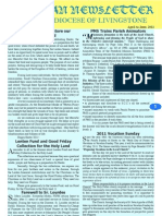 Catholic Diocese of Livingstone Newsletter Apr to Jun 2011