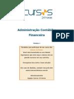 Modulo 01 Adm Financeira