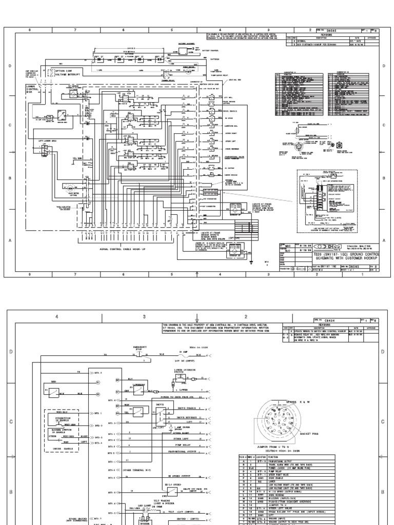 Terex Wiring Diagram