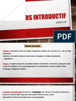 Cours introductif