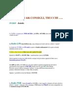 TUTTO Radio PMR 446 e DPMR e Libera Vendita e Uso e Trucchi Uso - DOC