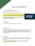 Radio POC Come Funzionano - DOC