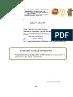 Rapport Etudes LNTPB 20 SF 33_Fianarantsoa