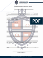 03-Requerimento para Aproveitamento de Créditos e ou Disciplinas MESTRADO