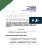 FORMATO INFORME EJECUTIVO EMPRESA EXITELASS
