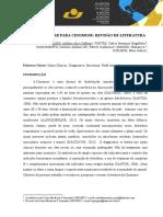 UM NOVO OLHAR PARA CINOMOSE- REVISÃO DE LITERATURA