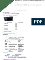 Impresoras HP Deskjet serie D1600