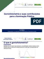Goniofotometria Para a Iluminacao Publica
