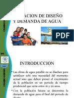 4. POBLACION DE DISEÑO Y DEMANDA DE AGUA