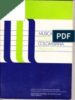 Musica Coral Colombiana Vol. 1