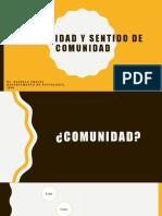 4. COMUNIDAD Y SENTIDO DE COMUNIDAD