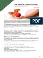 Diabetes Gestacional Síntomas Tratamiento y Causas