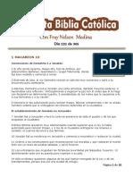 DÍA 232 - 365 Días Para Leer La Sagrada Escritura