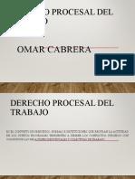DIAPOSITIVA DERECHO PROCESAL DEL TRABAJO 1.2