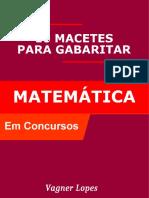 Macetes de Matemática Para Concursos (1)