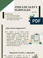 Impuestos Locales y Regionales