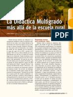 Didáctica  Multigrado ambientes rurales