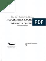 César Itier Runasimita Yachasun Método de Quechua 2019