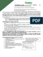 REQUISITOS PARA APROBACION DE ETIQUETAS - SENASAG BOLIVIA