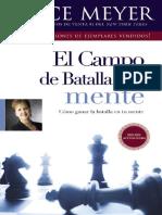 El Campo de Batalla de La Mente - Joyce Meyer