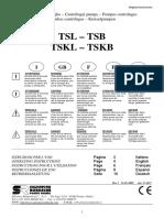 CAP M - 2 Libretto Istruzioni  TS 32-40-50_T-1617_5 LINGUE Caldera Mingazzini