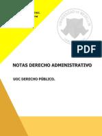 Derecho Administrativo General.