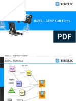 08082008_MNP_Call_Flows_Tekelec_BSNL