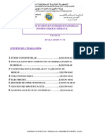 Evaluation 01 Réseau