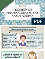 Régimen de perfeccionamiento aduanero