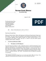 Notice of Claim Senate Final