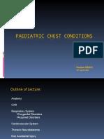 Paediatric Chest Conditions