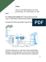 Vapour Power System