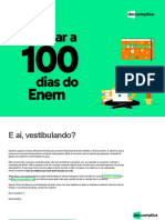 Checklist 100 Dias Enem 2021