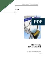 Apuntes de auditoría financiera II autor Alicia Villalba González