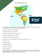 Revisão Geografia