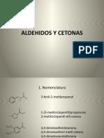 ALDEHIDOS Y CETONAS