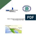 Ecología de San Felipe, Baja California, México.