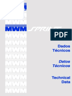 MWM Sprint Dados Técnicos